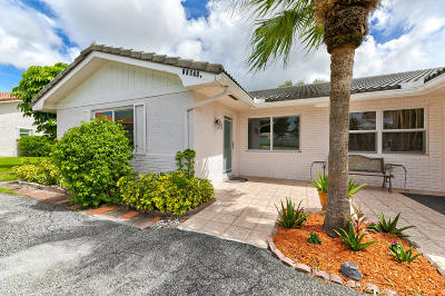 Coral Springs Single Family Home For Sale: 11371 NW 38 Street #E