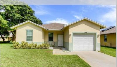 Boynton Beach FL Single Family Home For Sale: $275,000