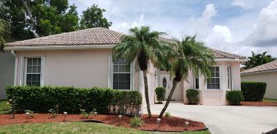 Royal Palm Beach Single Family Home For Sale: 286 Saratoga Boulevard E