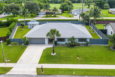 Delray Beach FL Single Family Home For Sale: $468,400