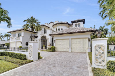 Boca Raton Single Family Home For Sale: 215 Royal Palm Way