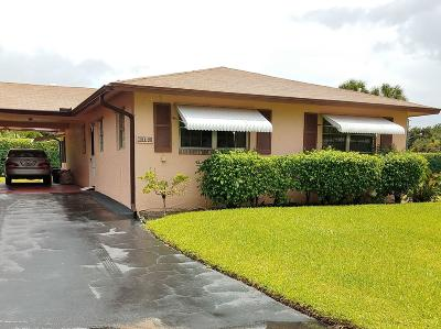 Delray Beach FL Single Family Home For Sale: $128,500