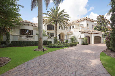Boca Raton Single Family Home For Sale: 17115 Avenue Le Rivage Avenue