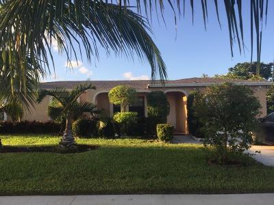 Boca Raton Single Family Home For Sale: 10650 Ember Street