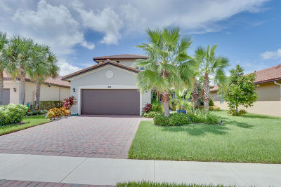 Lake Worth Single Family Home For Sale: 7163 Prudencia Drive