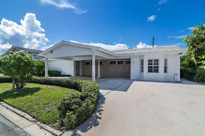 West Palm Beach Single Family Home For Sale: 246 Elwa Place
