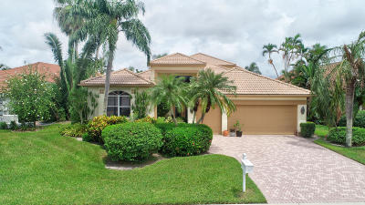 Boynton Beach Single Family Home For Sale: 11606 Privado Way
