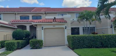 Palm Beach Gardens Townhouse For Sale: 914 Windermere Way