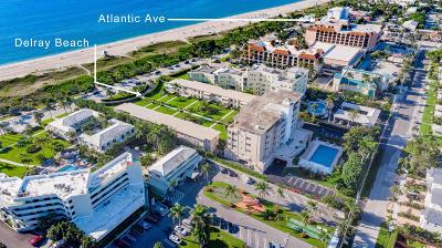 Delray Beach Condo For Sale: 120 Ocean Boulevard #404