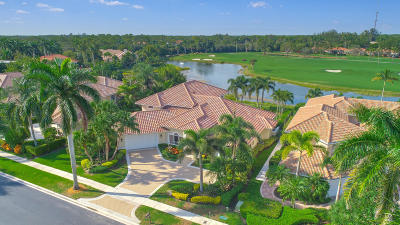 West Palm Beach Single Family Home For Sale: 8550 Egret Lakes Lane