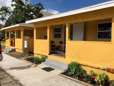 West Palm Beach Multi Family Home For Sale: 1019 21st Street