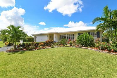 Boynton Beach Single Family Home For Sale: 9405 Listow Terrace