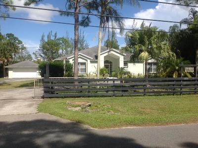Jupiter Single Family Home For Sale: 18220 120th Terrace North