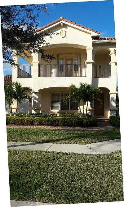 West Palm Beach Single Family Home For Sale: 598 Cresta Circle