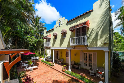 Palm Beach Single Family Home For Sale: 217 Seabreeze Avenue