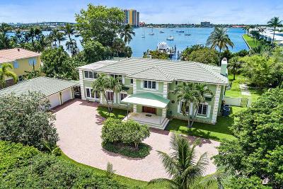 Singer Island Single Family Home For Sale: 3025 Lake Drive