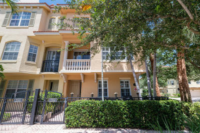 Palm Beach Gardens Townhouse For Sale: 2510 San Pietro Circle