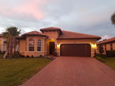 Lake Worth Single Family Home For Sale: 4981 Manchia Drive