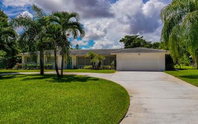 Martin County Single Family Home For Sale: 1134 NW Pine Lake Drive