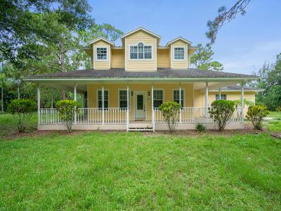Loxahatchee Groves Single Family Home For Sale: 4405 161st Terrace