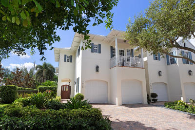 Delray Beach Townhouse For Sale: 1028 Bay Street
