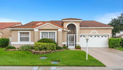 Palm Beach Gardens Single Family Home For Sale: 10201 Siena Oaks Circle S