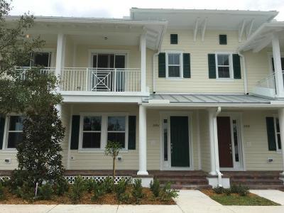 Jupiter Townhouse For Sale: 2795 Caroline Drive