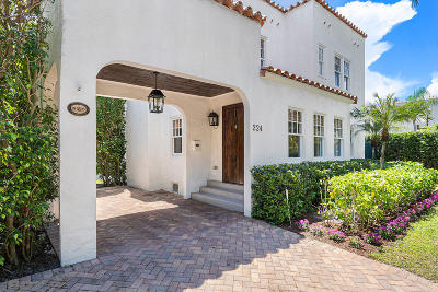 West Palm Beach Single Family Home For Sale: 224 Greenwood Drive