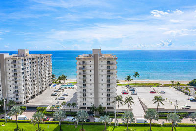 Highland Beach Condo For Sale: 3301 S Ocean Boulevard #302