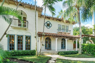 Palm Beach Single Family Home For Sale: 426 Seaspray