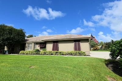 North Palm Beach Single Family Home For Sale: 12899 Barrow Road