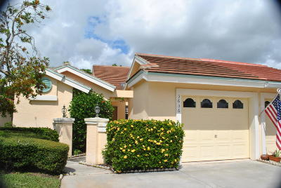 Palm City Single Family Home For Sale: 3656 SW Whispering Sound Drive