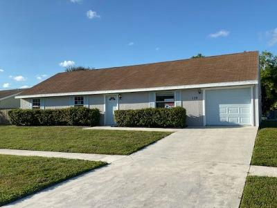 Royal Palm Beach Single Family Home For Sale: 139 Raven Court