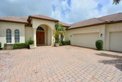 Port Saint Lucie Single Family Home For Sale: 924 SW Grand Reserve Boulevard