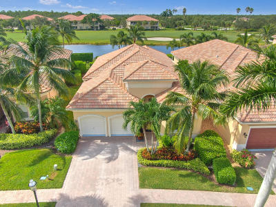 West Palm Beach Single Family Home Contingent: 10490 Terra Lago Drive