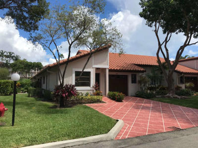 Delray Beach Single Family Home For Sale: 6187 Kings Gate Circle