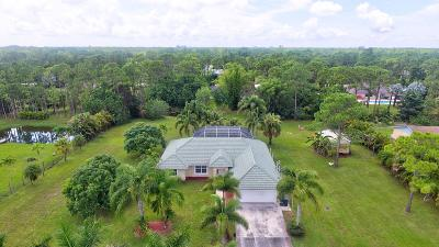 Loxahatchee Single Family Home For Sale: 16594 87th Lane