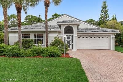 Jupiter Single Family Home For Sale: 188 Jones Creek Drive