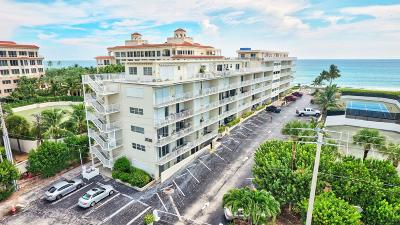 Palm Beach Condo For Sale: 3030 S Ocean Boulevard #220