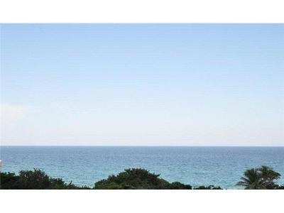 Highland Beach Condo For Sale: 3740 S Ocean Boulevard #602