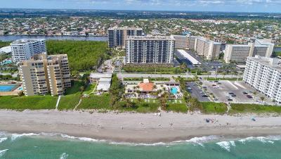 Highland Beach Condo For Sale: 3420 S Ocean Boulevard #15n