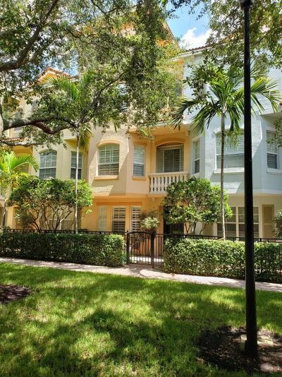 Palm Beach Gardens Townhouse For Sale: 2755 Ravella Way