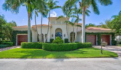 Palm Beach Gardens Single Family Home For Sale: 228 Via Palacio