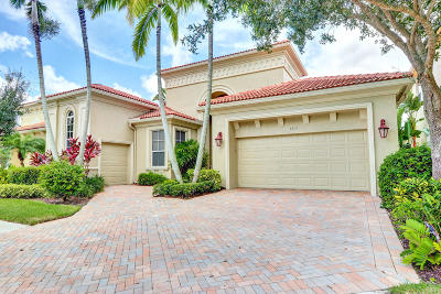 West Palm Beach Single Family Home For Sale: 7215 Tradition Cove Lane W