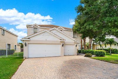 Royal Palm Beach Single Family Home For Sale: 122 Kensington Way