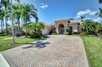 Boynton Beach Single Family Home For Sale: 8051 Muirhead Circle