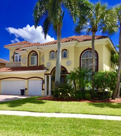 Boynton Beach Single Family Home For Sale: 9718 Coronado Lake Drive