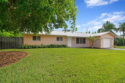 Boynton Beach Single Family Home Contingent: 154 SE 25th Avenue