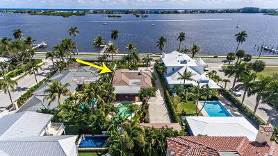 West Palm Beach Single Family Home For Sale: 6911 S Flagler Drive
