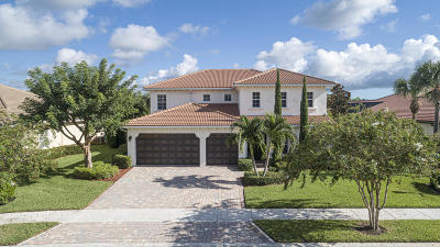 Jupiter Single Family Home For Sale: 127 Manor Circle